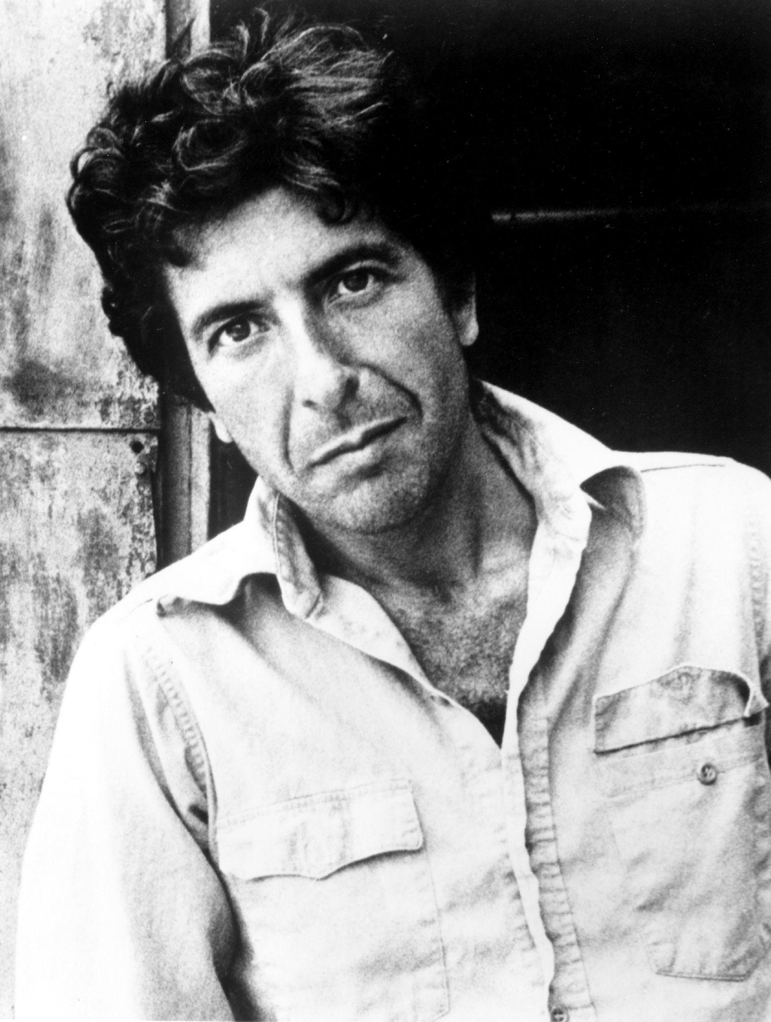 Leonard Cohen Lyrics, Photos, Pictures, Paroles, Letras, Text for ...